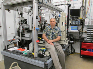 J. Ilavsky at his beamline