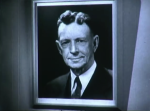 "A portrait of Dr. Coolidge seen in the movie ""Exploring with X-Rays, Part 1"" from GE."