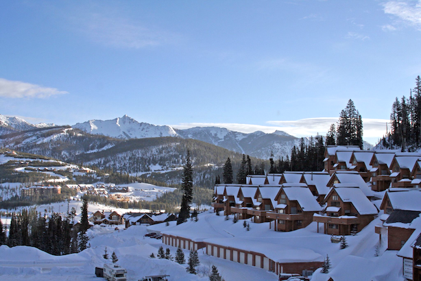 Big sky resort in winter. Image CC from http://upload.wikimedia.org/wikipedia/commons/4/4f/Big_Sky_resort.jpg