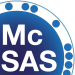 Logo of the McSAS program version 1.0