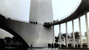 Base of the Trylon, 1939 NY World's Fair. CC-BY licensed from: https://www.flickr.com/photos/rich701/8589961289