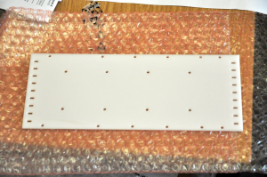 A baseplate for a PCB