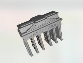 Brandenburger Tor 3D model.