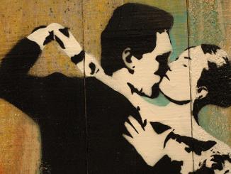"Blek le Rat - ""Last Tango in Paris"" at 941 Geary Gallery, San Francisco"