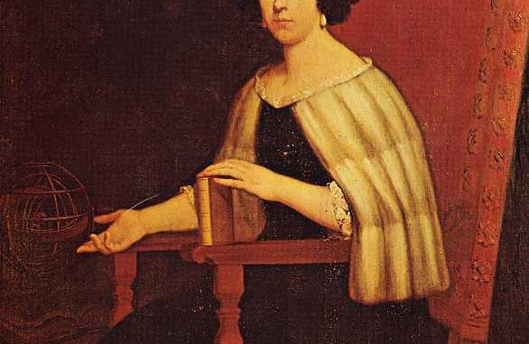 Elena Lucrezia Cornaro Piscopia, the first woman in the world to receive a Ph.D. (in 1678). Public domain image. Source: https://en.wikipedia.org/wiki/File:Elena_Piscopia_portrait.jpg