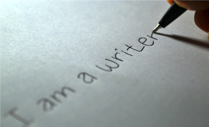 Stating the obvious. CC0-licensed image from: https://pixabay.com/en/writer-writing-paper-letter-author-605764/