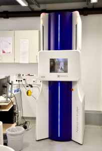 The vertical SAXS/WAXS machine, whose data is used for the example data conversion.
