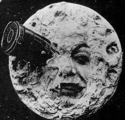 "From ""Le Voyage dans la lune"" (A Trip to the Moon) (1902). out of copyright."