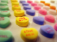 """Candy Hearts: Awesome"", by Brent Moore. CC-BY-NC image, source: https://www.flickr.com/photos/brent_nashville/3266508742"